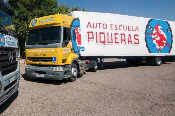 Carnet de Camión C+E, Calatayud